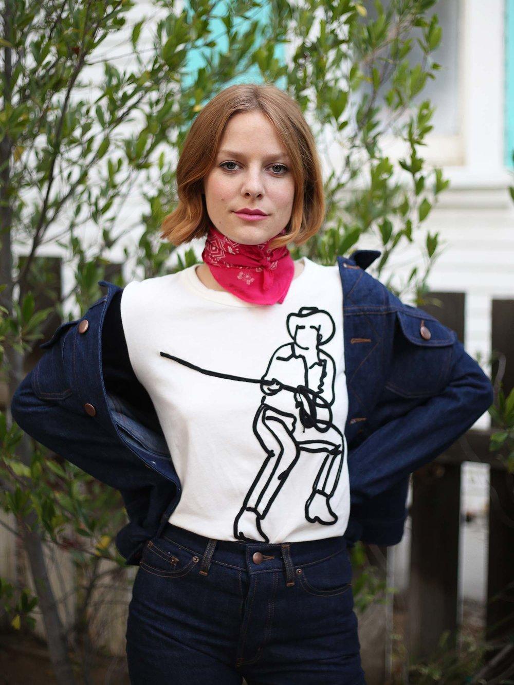Bliss And Mischief - Shawl Collar Denim Jacket