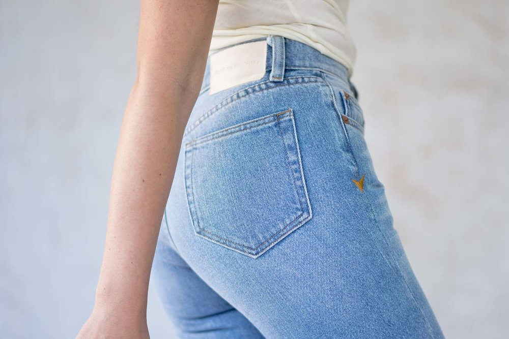 - Our answer to the perfect vintage jeans you could never quite find - our Collector Fit denim blends a soulful vintage feel with modern tailoring and sustainable materials.Made in Los Angeles from non-stretch deadstock 100% cotton indigo denim.