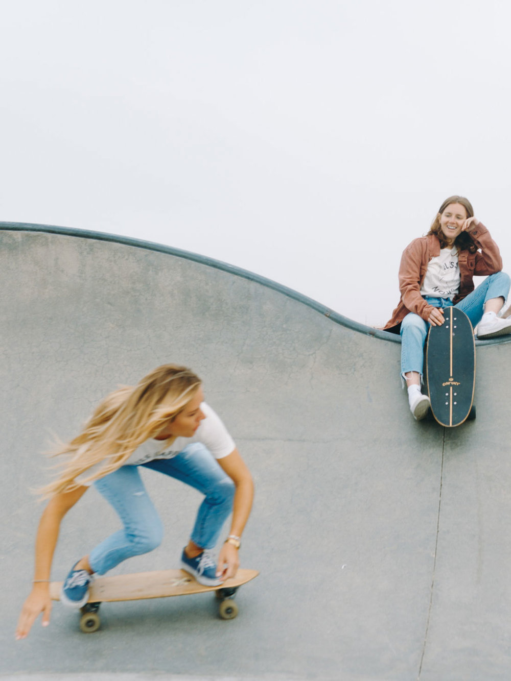 Bliss And Mischief x Grl Swirl-Boardwalk 'Bliss' Slim Tee