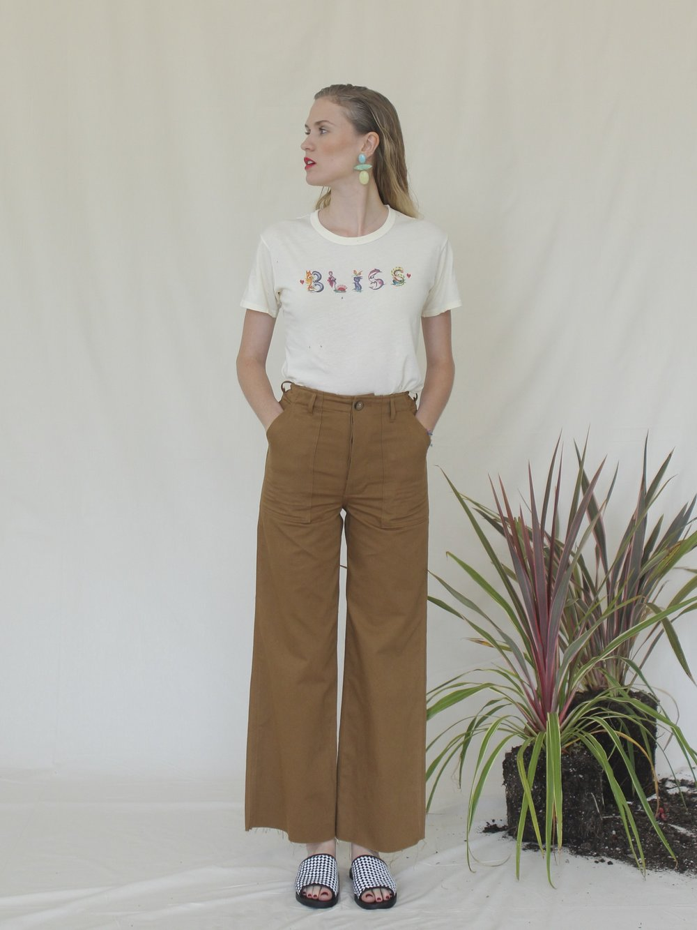 Bliss And Mischief-Boardwalk 'Bliss' Slim Tee