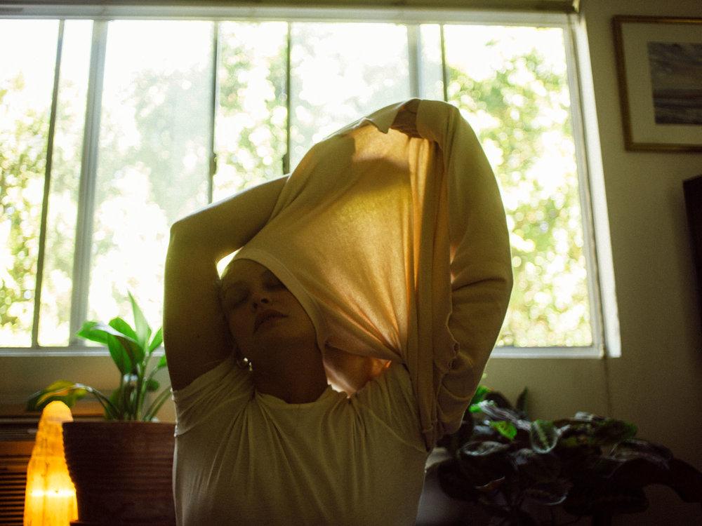 Bliss And Mischief-Studio Sweatshirt in Bisque