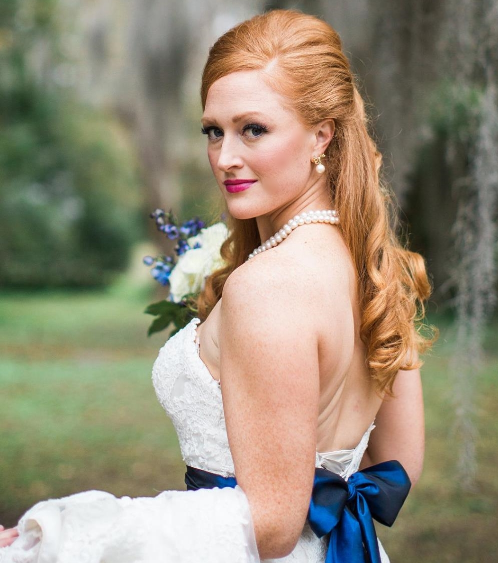 Bridal Airbrush Makeup and Hair by Beyond Beautiful by Heather, Savannah,GA