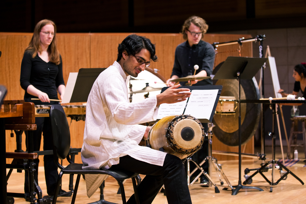 "West coast premiere of the ""Rohan Concerto"" at the San Francisco Conservatory of Music. Photo credit: Emily Sevin"