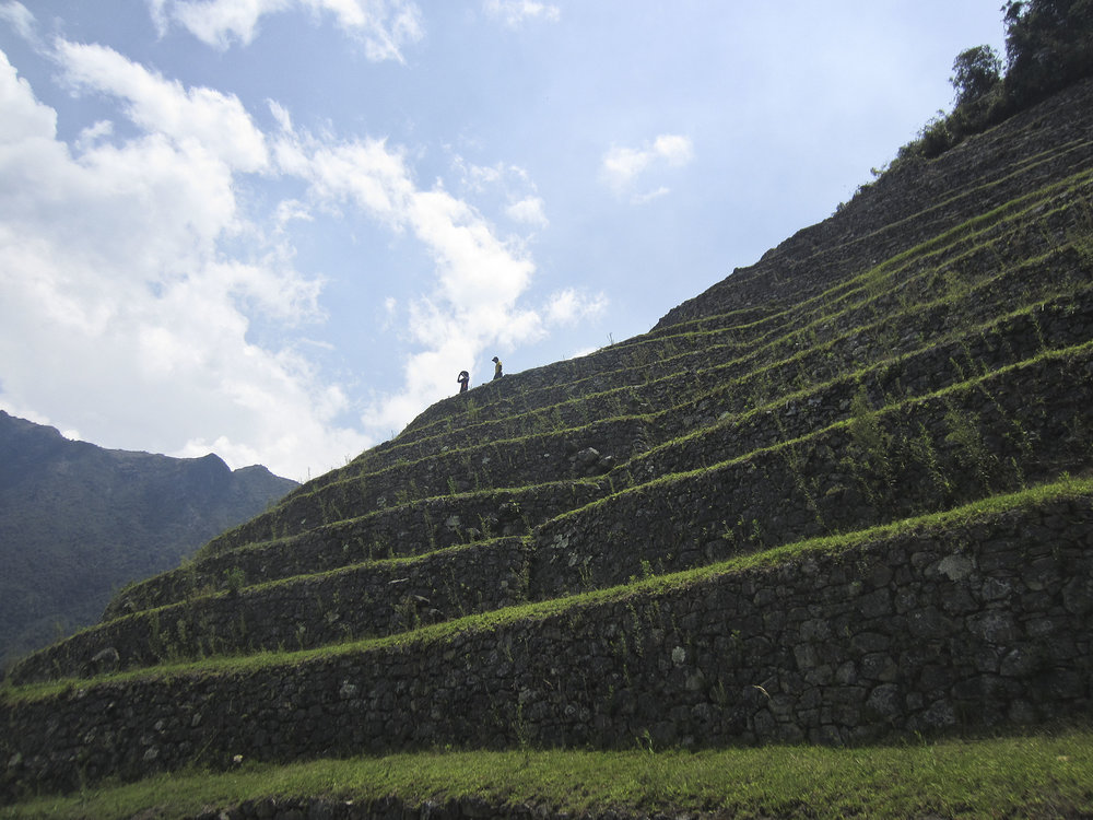 Inca Trail Day 3 | Intipata | A terraced, vertical, Incan farm.