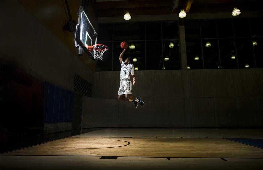 WWU Men's Basketball star, Jeffery Parker
