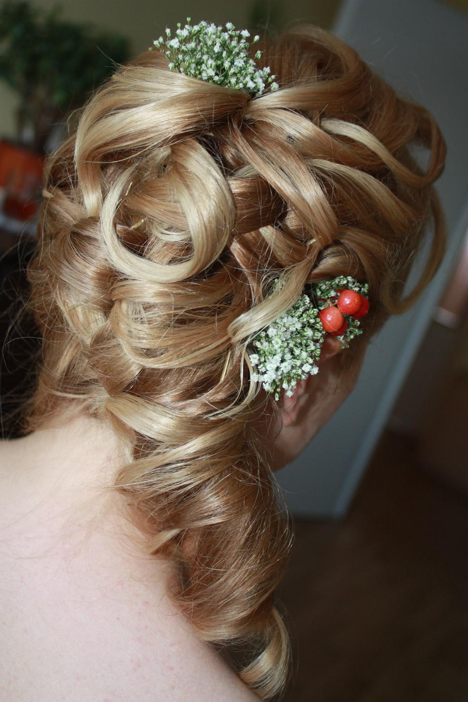 ozdoby do włosów z kwiatów naturalnych: Patykwia