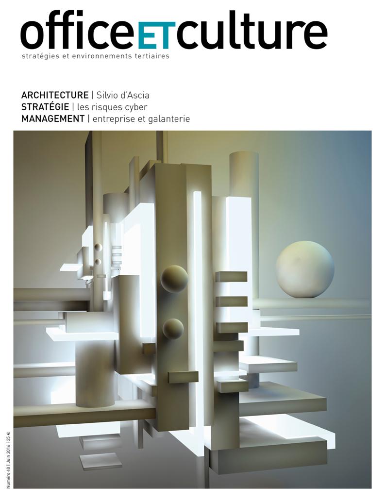 Office ET Culture #40 | June   Silvio Dascia, Pour une nouvelle urbanité