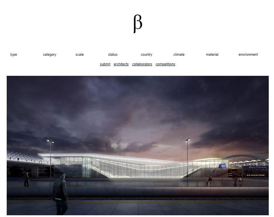 Beta Architecture | juin    La station de métro Massy-Palaiseau