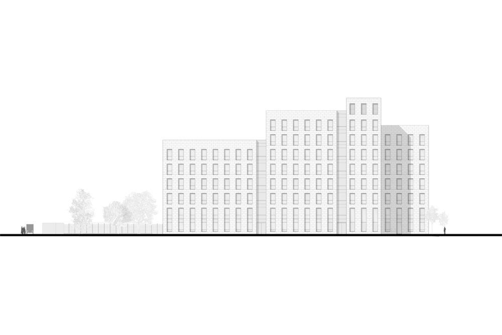 Façade Nord-Est © Silvio d'Ascia Architecture