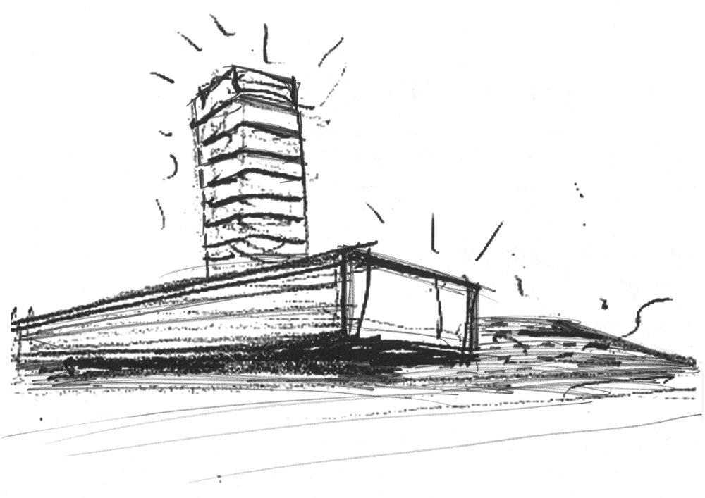Croquis ICBC - Silvio d'Ascia Architecture