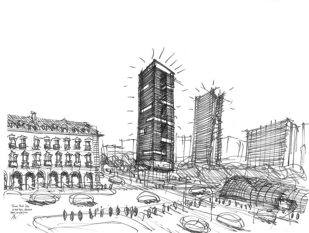 Silvio d'Ascia Architecture - Tour Porta Susa