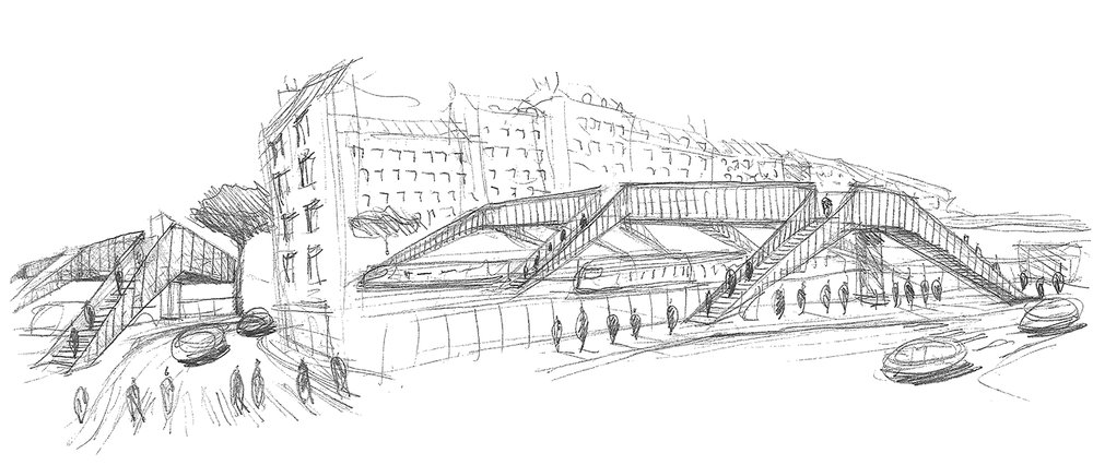 Silvio d'Ascia Architecture – Bécon RER