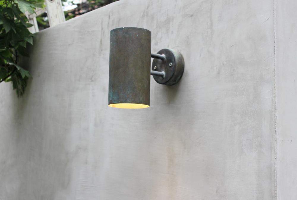 Hans Agne Jacobsen cycinderical garden lamps 4 (c) Ampersand House 2015.jpg