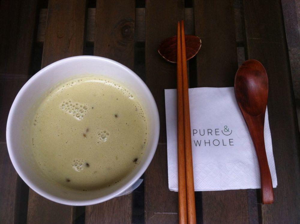 Lentils & Coconut milk soup