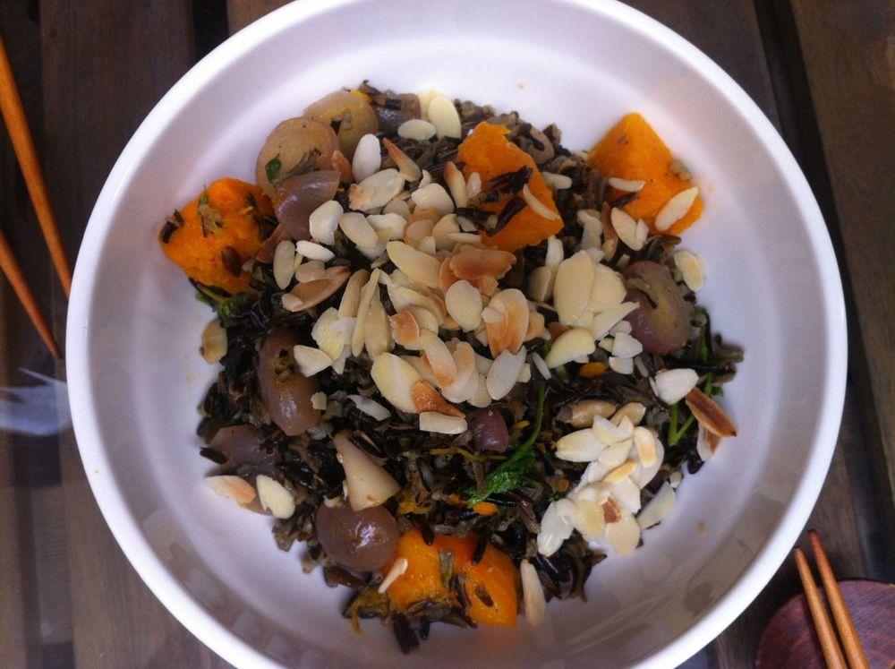 Wild Rice & Pumpkin salad