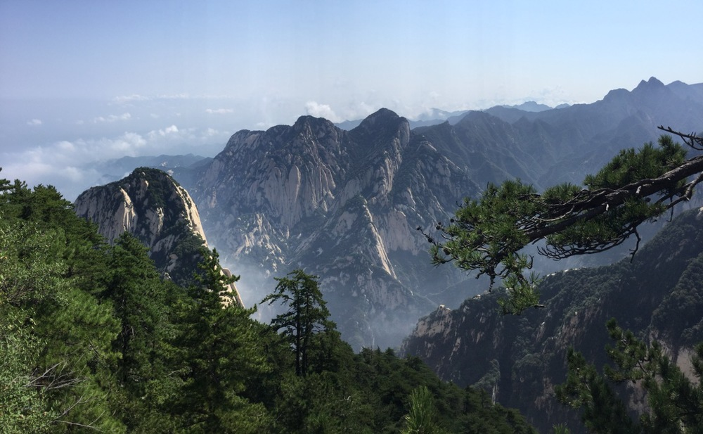 Stunning scenery.