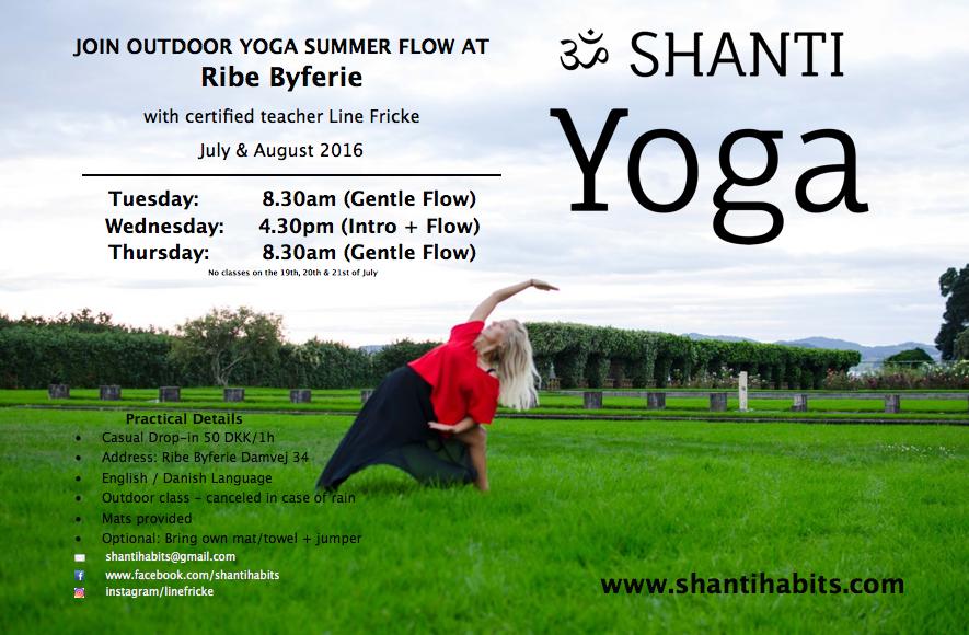 Shanti Yoga in RIbe