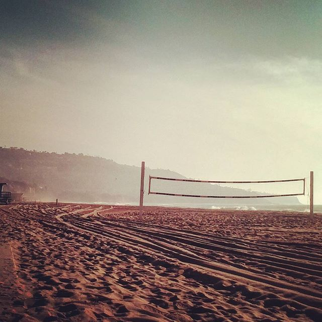 Hazy afternoon at Redondo Beach #redondobeach #southbay #pacificcoast #beachvolley #california #relaxing