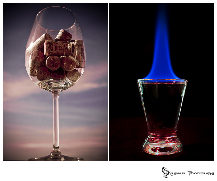 Corked Wine and Flaming Shot