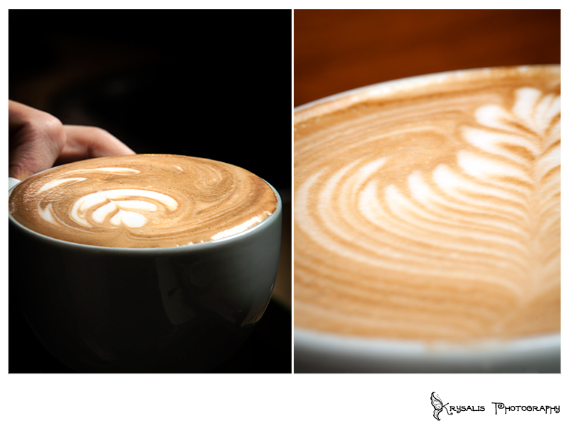 Redwood Coffee House, latte art