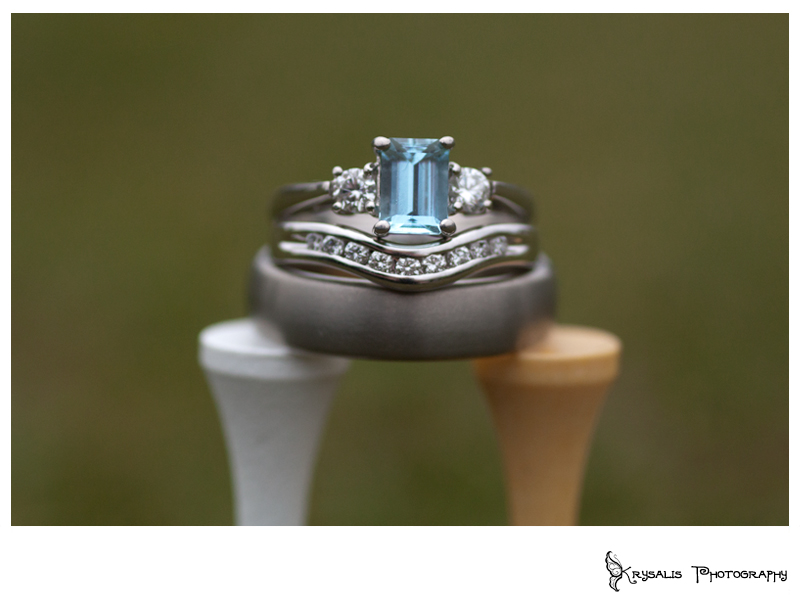 Wedding Rings on Hawkstone Park Golf Course