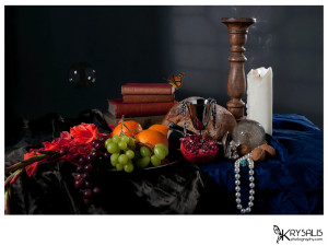 Still life image with Candle
