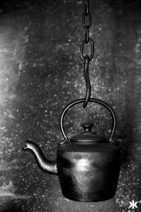 Old Kettle hanging