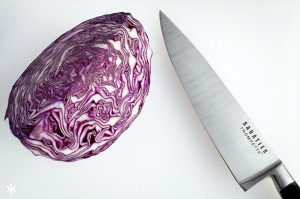 Cabbage and Knife