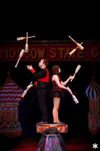 Moscow State Circus Jugglers