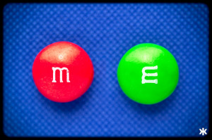 M&M sweets