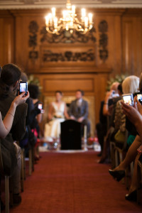 An Iranian wedding ceremony