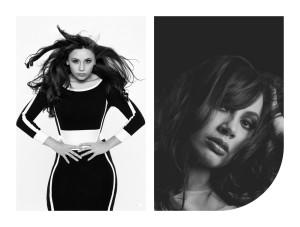 model-black-and-white