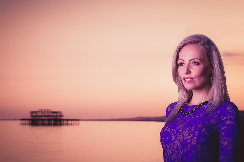 Portrait of Zara Watson in Brighton