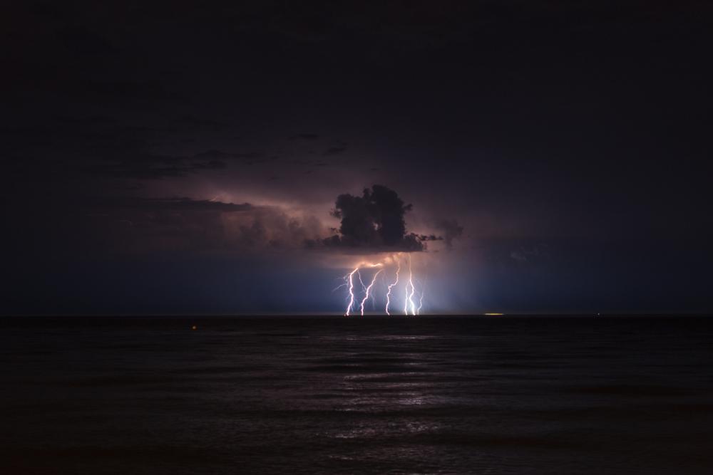 Lightning in Brighton