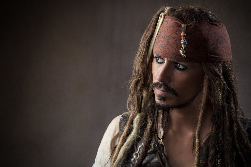 Headshot of Jack Sparrow