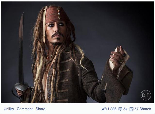 Jack Sparrow like