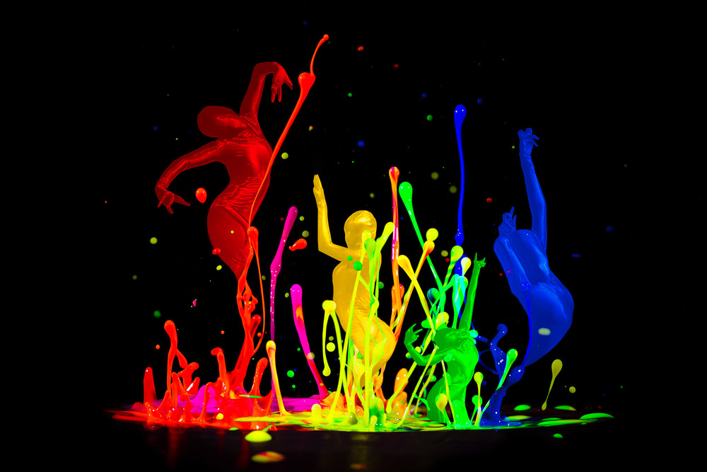Paint Splash Dancers