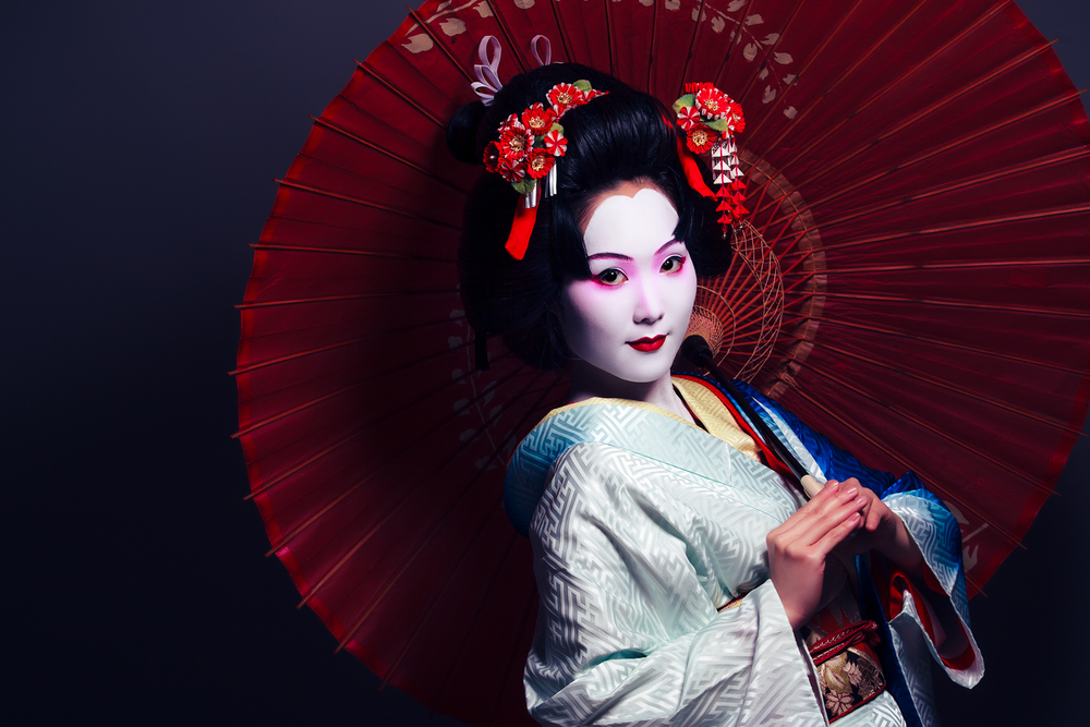 The Geisha Photoshoot Dade Freeman