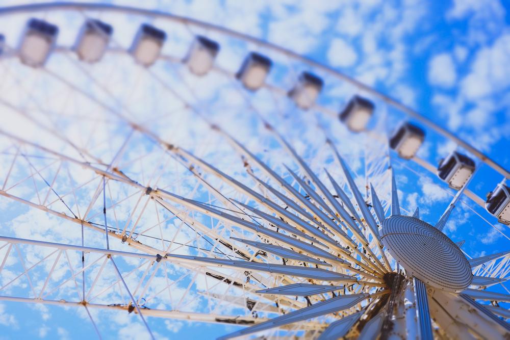 Brighton Wheel - tilt shift effect