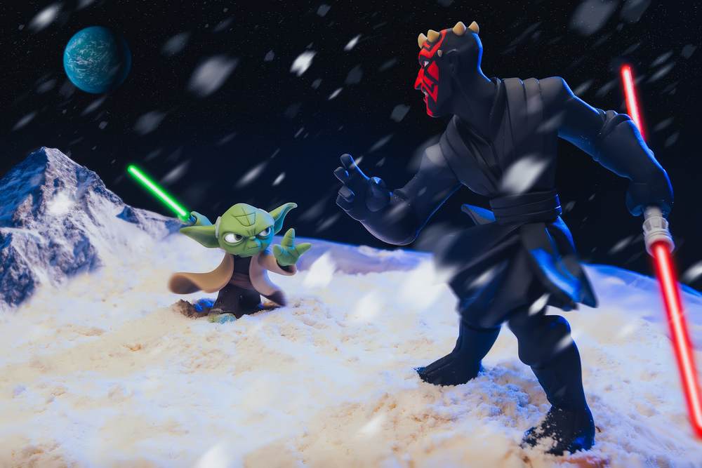 Disney Infinity Star Wars Yoda Vs Darth Maul