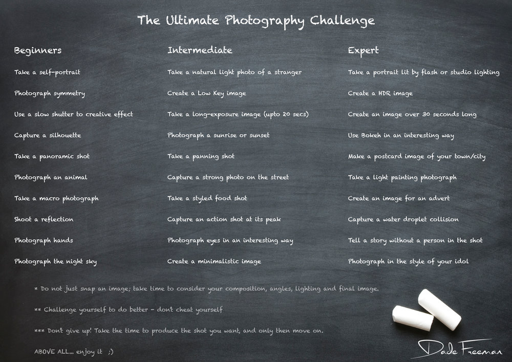 Ultimate Photography Challenge