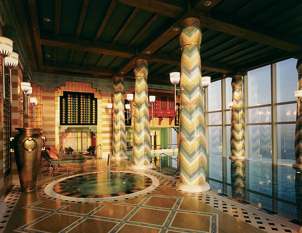 Assawan Spa: Swimming pool