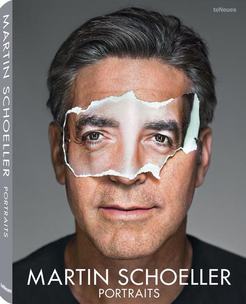 © Portraits by Martin Schoeller, to be published by teNeues in October 2014, www.teneues.com. George Clooney, 2008, Photo © 2014 Martin Schoeller. All rights reserved.