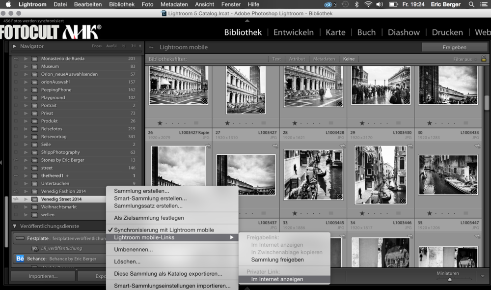 ADOBE Lightroom News von Eric Berger