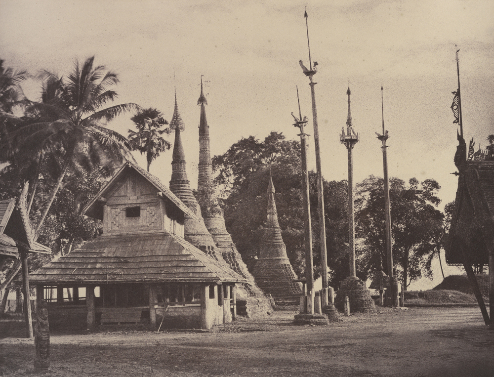 Rangoon: Henzas on the East Side of the Shwe Dagon Pagoda