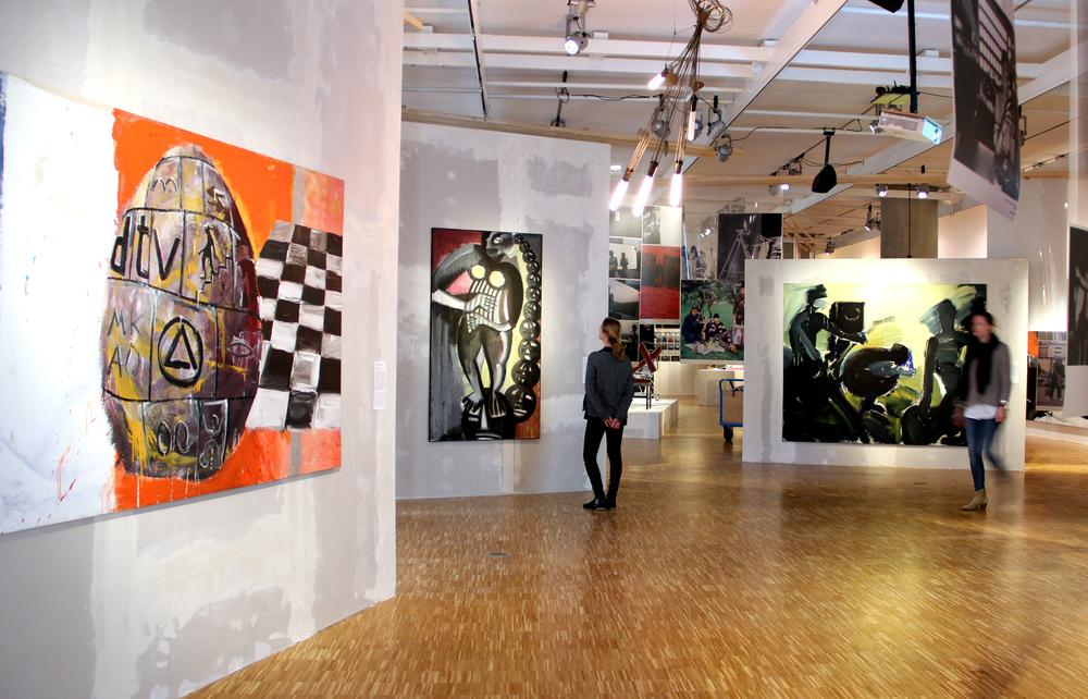 Ausstellungsansicht 1, Foto: Michaela Hille
