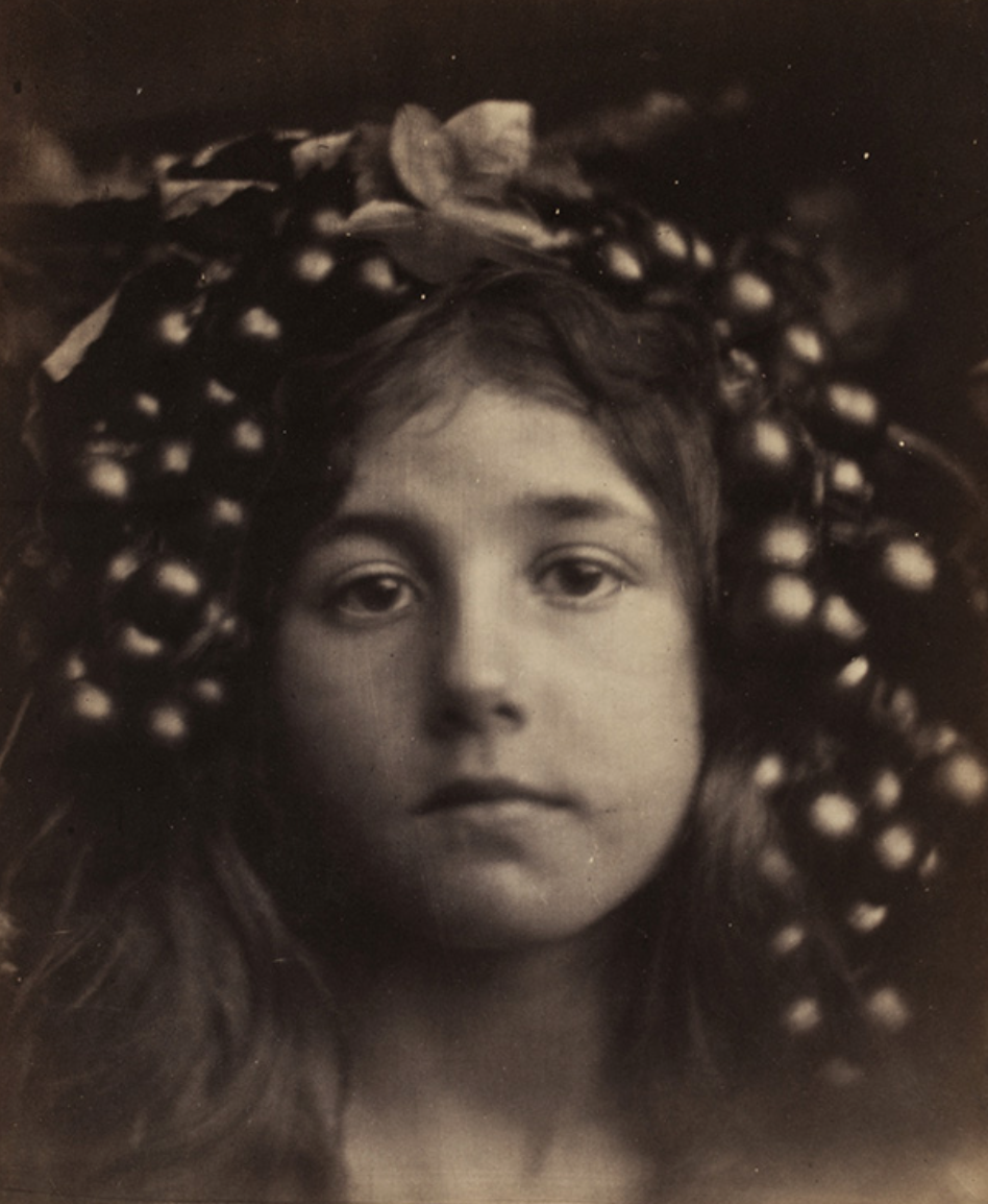 Circe, Julia Margaret Cameron, 1865 , albumen print from wet collodion glass negative. Museum no. 45140 © Victoria and Albert Museum, London