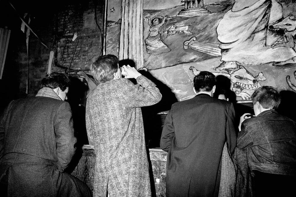 Ken Schles, Bar Scene, 1984 © Ken Schles