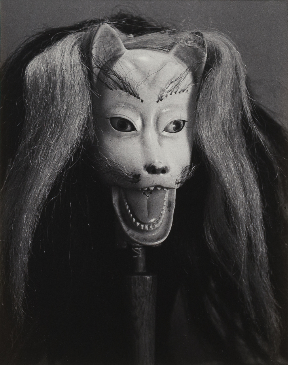 rie Taikichi, Aus der Folge Bunraku Theater, Osaka, 1941, Silbergelatineabzug, 34,8 x 27,4 cm, © Irie Taikichi Memorial Museum