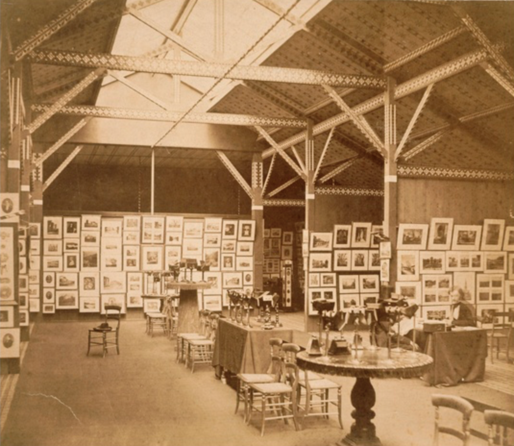 Exhibition of the Photographic Society of London and the Societe Francaise de Photographie at the South Kensington Museum 1858 Charles Thurston Thompson Given by Alan S. Cole (c) Victoria and Albert Museum, London